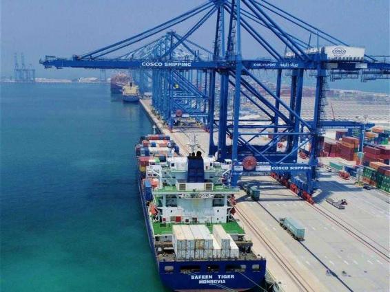 M/V SAFEEN TIGER makes maiden call at Khalifa Port