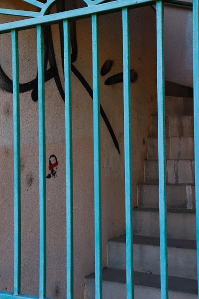 graffiti pochoir challenge 365 photo