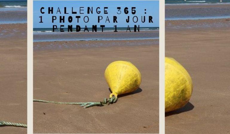 challenge photo bouée plage