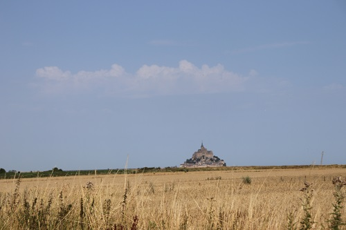 mont st michel tuto photo ligne d'horizon