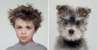 série photo gerrard gethings maître et chien