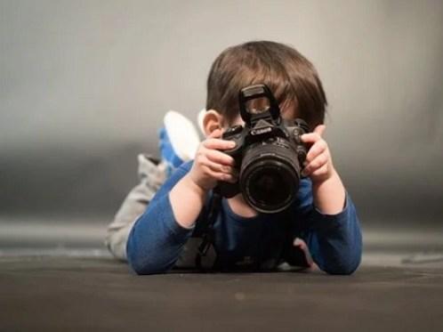 émerveillement du photographe