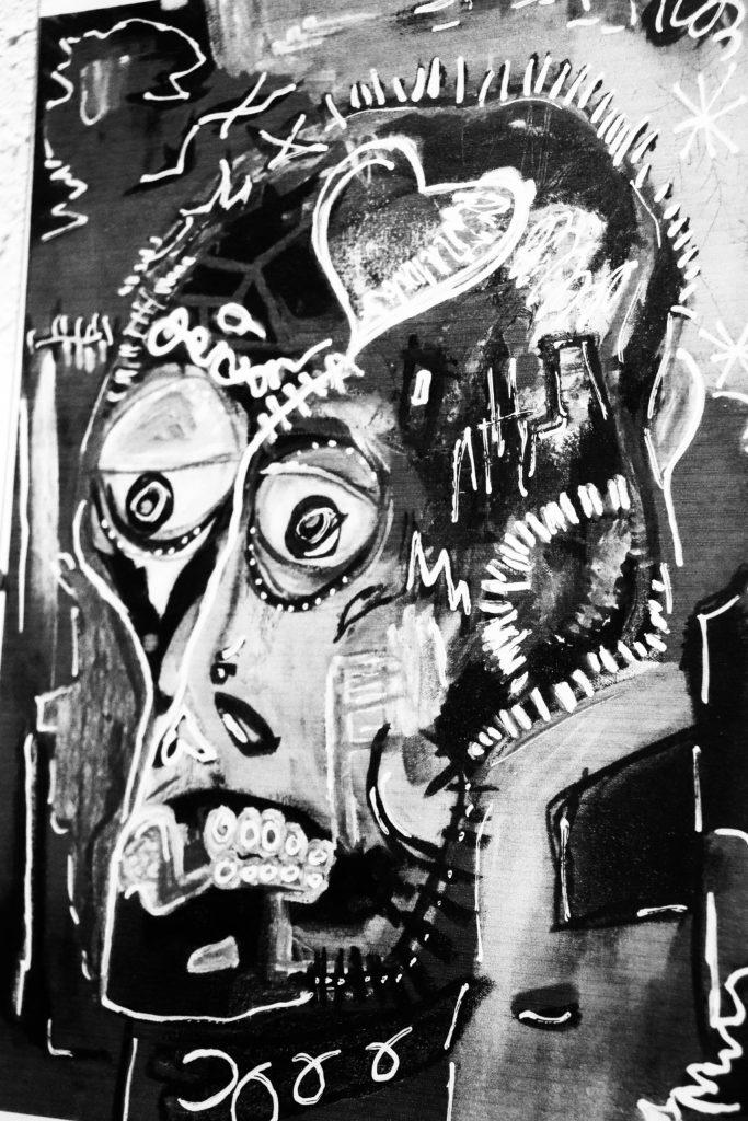 challenge 52 en photo jean-michel basquiat revisité