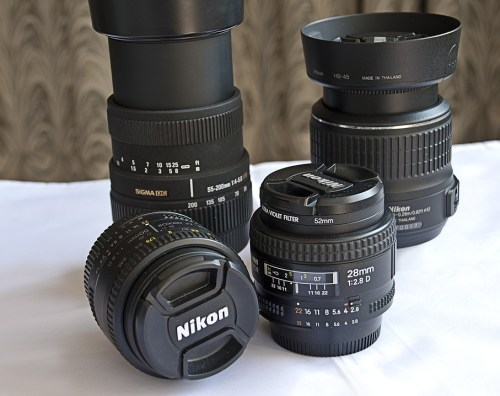 objectifs photo quel matériel photo en voyage