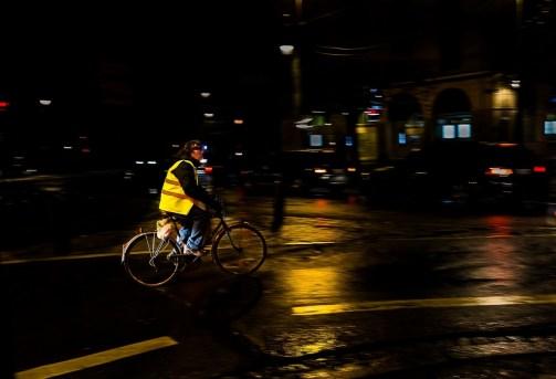 L'Homme à vélo ( Blois )