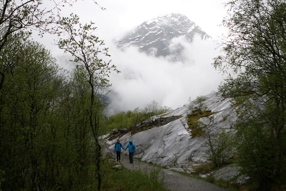 Foggy Mountain, Norway ©Cyndie Burkhardt.