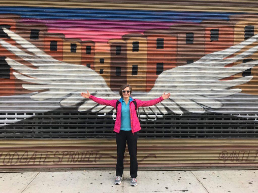 Cyndie Burkhardt has angel wings