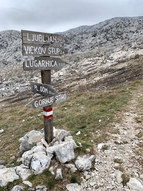 Mosor Mountain, Split Croatia ©2020, Cyndie Burkhardt.