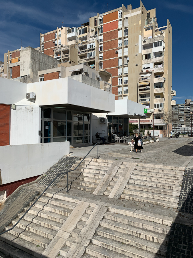 Apartment Buildings, Split, Croatia ©2020, Cyndie Burkhardt.