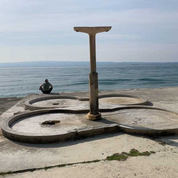 Plaza Duilovo, Split, Croatia ©2020, Cyndie Burkhardt.