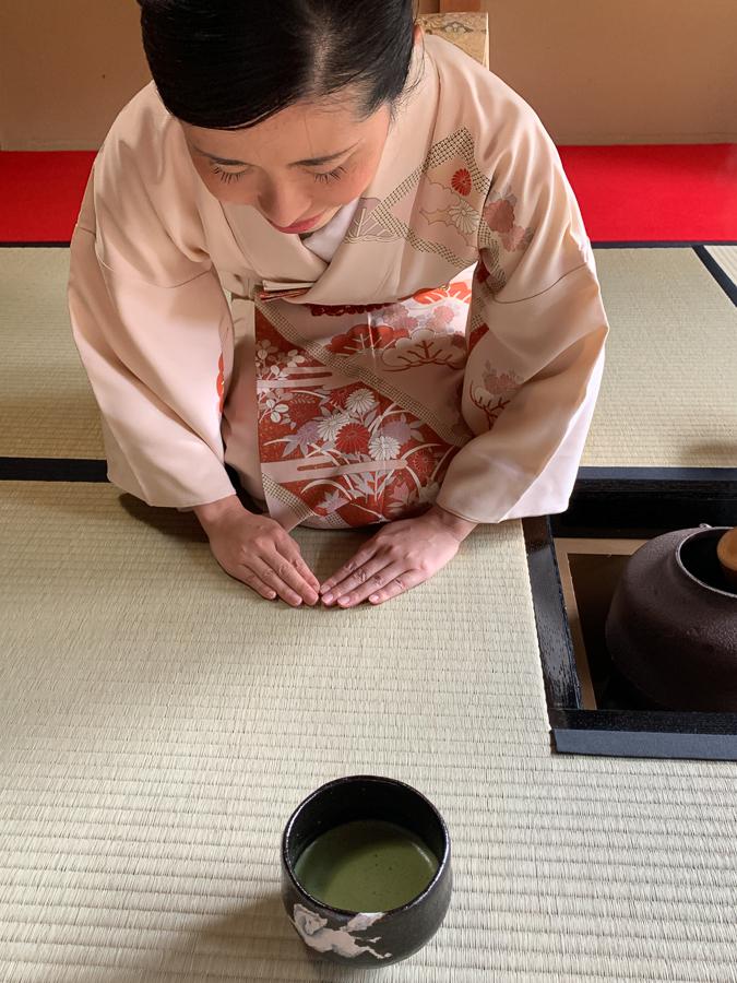 Tea Ceremony, Kyoto, Japan, ©2020, Cyndie Burkhardt.