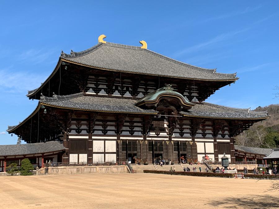 Todaiji Temple, Nara, Japan, ©2020, Cyndie Burkhardt.