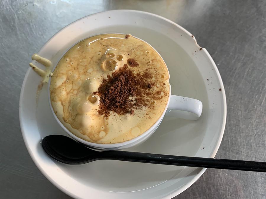 Egg Coffee, Hanoi, Vietnam ©2019, Cyndie Burkhardt.