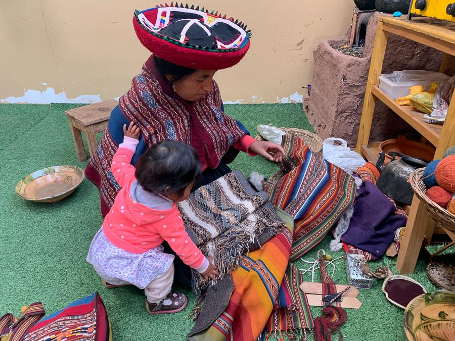 Family, Chinchero, Peru ©2019, Cyndie Burkhardt.