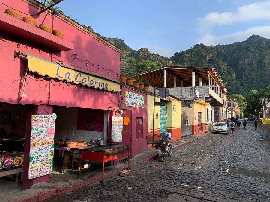 Main Street, Tepoztlan, Mexico ©2019, Cyndie Burkhardt
