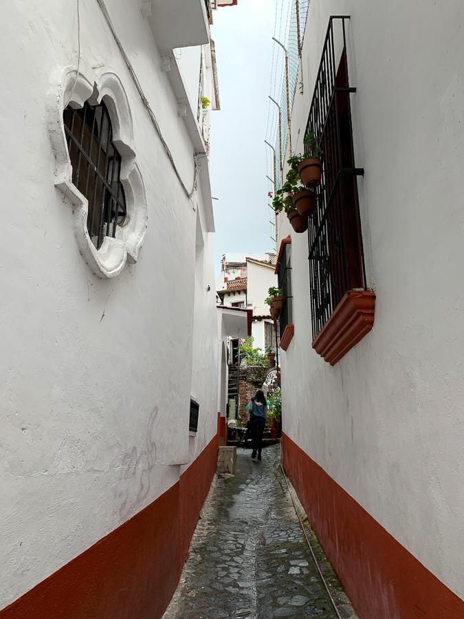 Narrow Alley, Taxco, Mexico ©2019, Cyndie Burkhardt