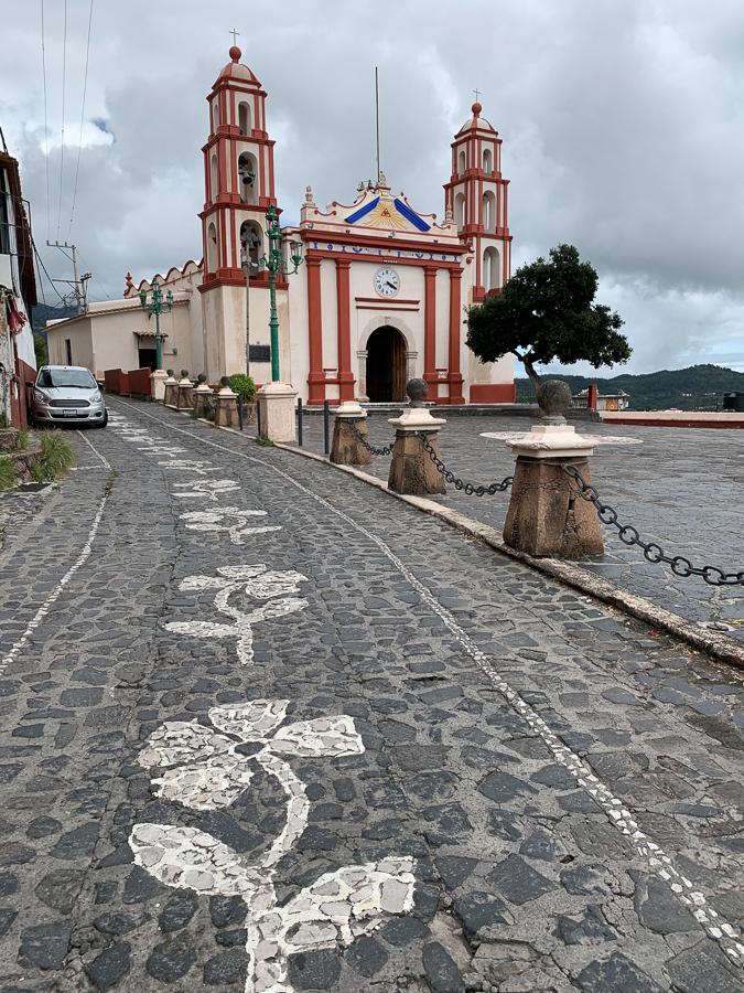 Painted Street, Taxco, Mexico ©2019, Cyndie Burkhardt