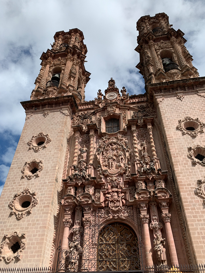 Santa Prisca Church, Taxco, Mexico ©2019, Cyndie Burkhardt