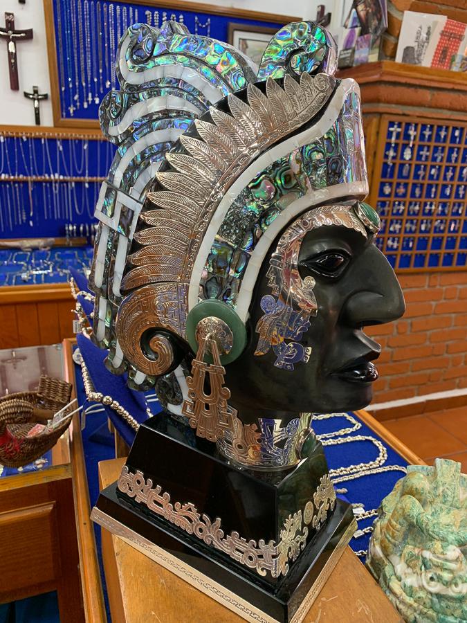 Silver jewelry, Taxco, Mexico ©2019, Cyndie Burkhardt