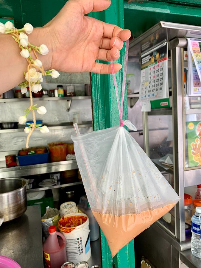 Chai tea, Kuala Lumpur, Malaysia, ©2020, Cyndie Burkhardt.