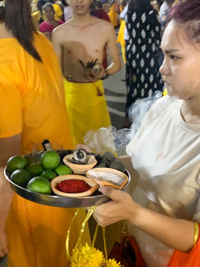 Thaipusam festival, Kuala Lumpur, Malaysia, ©2020, Cyndie Burkhardt.