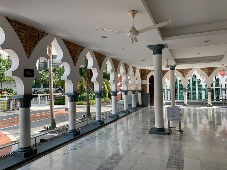 Jamek Mosque, Kuala Lumpur, Malaysia, ©2020, Cyndie Burkhardt.
