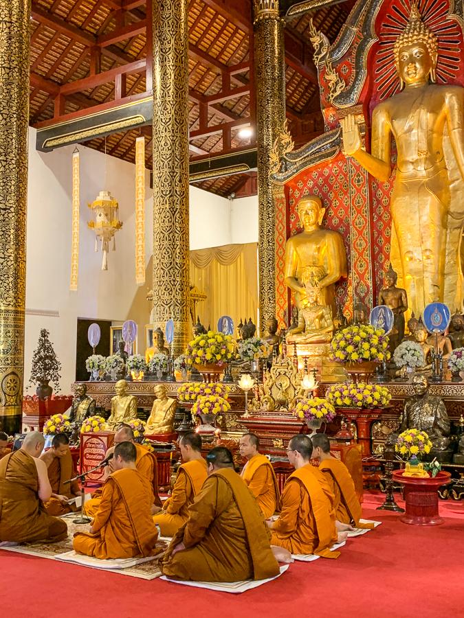 Wat Chedi Luang, Chiang Mai, Thailand ©2019 Cyndie Burkhardt.