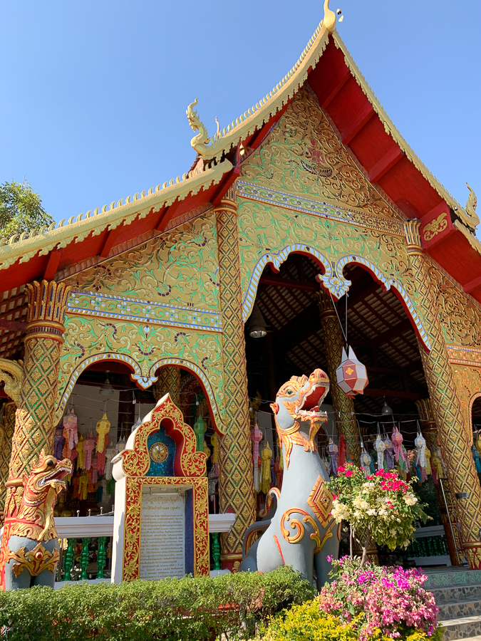 Wat Pa Phraow Nok, Chiang Mai, Thailand ©2019 Cyndie Burkhardt.