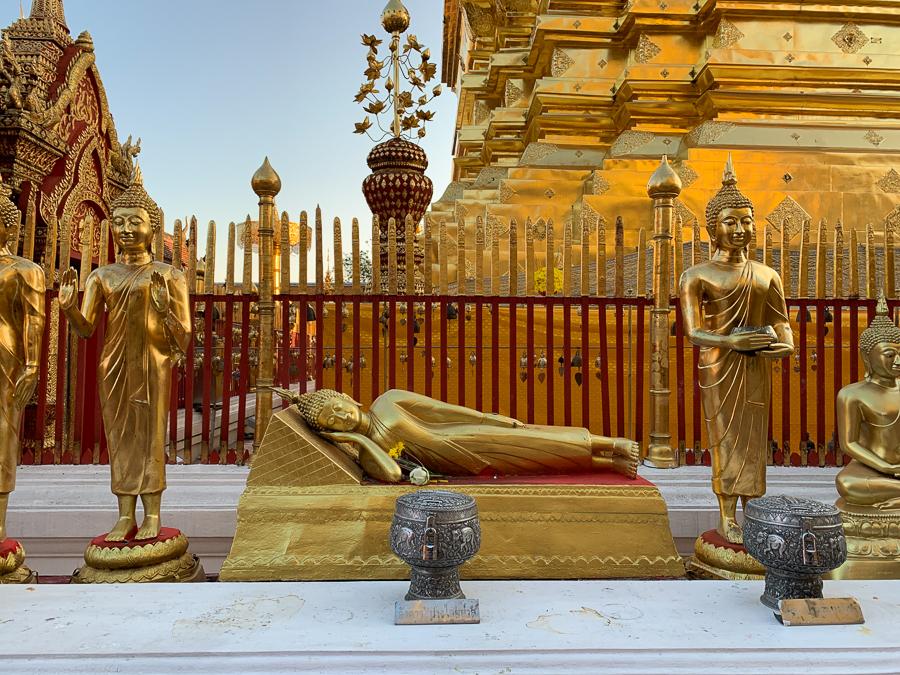 Doi Suthep Temple, Chiang Mai, Thailand ©2019 Cyndie Burkhardt.