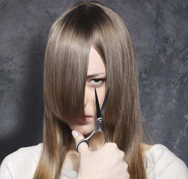 Как подстричь волосы самостоятельно