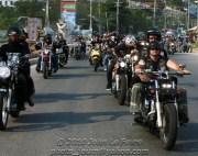 About 500 motorbikes took part in last years mass ride around Pattaya and Jomtien. Photo: Jomtien