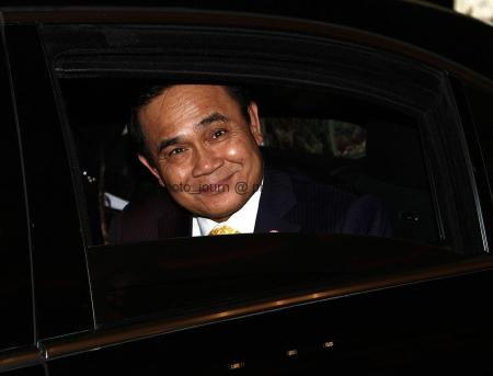 Thailand Prime Minister Prayut Chan-o-cha – not amused that poor public relations backup means the government's achievements aren't better known