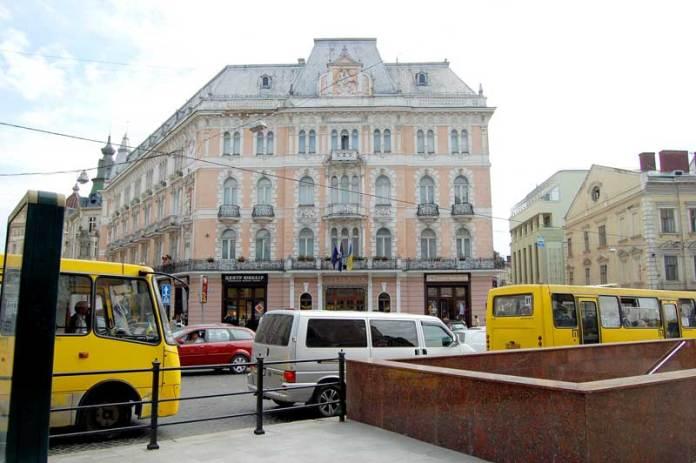 Готель Жорж - жива легенда Львова історія та сучасність