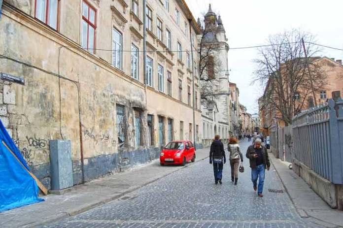 Вулиця Вірменська у Львові
