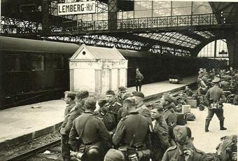 Львовский вокзал 1942г.1