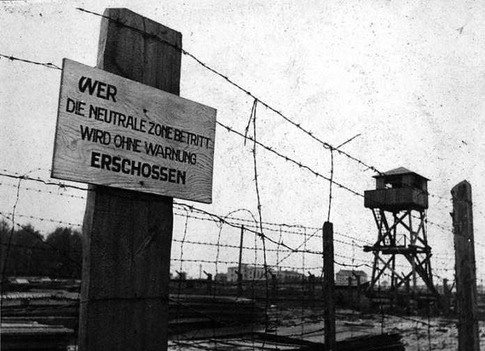 Колюча огорожа Янівського концтабору