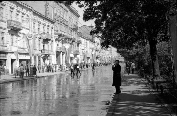 Львів, колишній проспект Леніна, 1964 рік
