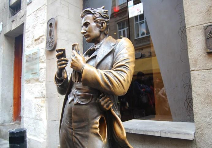 Пам'ятник Леопольду фон Захер-Мазоху у Львові