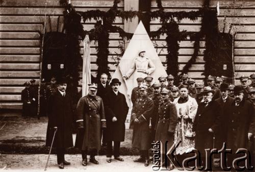Відкриття пам'ятника, 1928