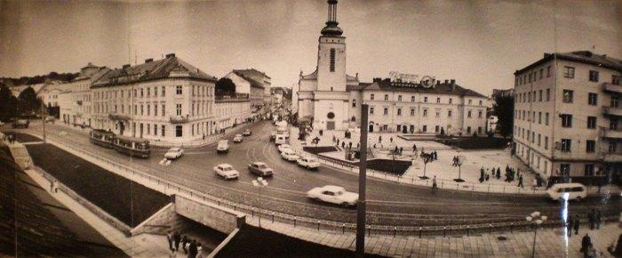 Площа Митна у Львові, фото 70-ті роки XX століття