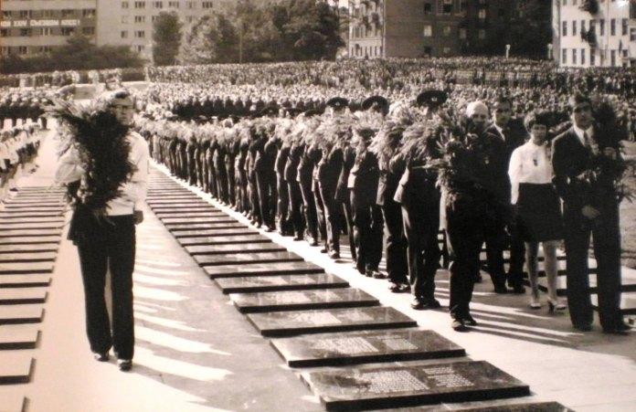 Військовий меморіал у Львові, фото 70-ті роки XX століття