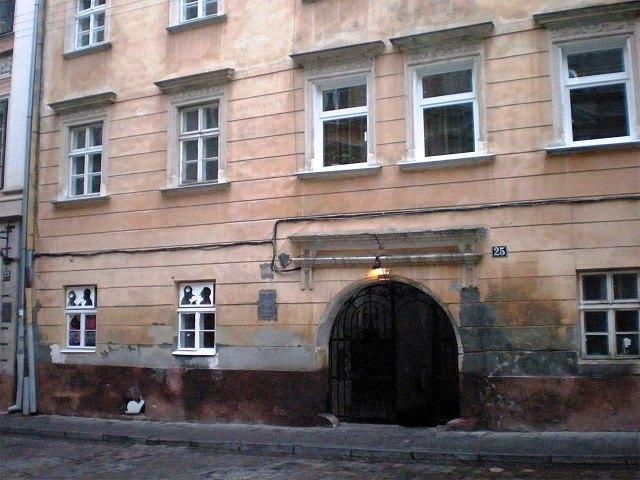 Вірменська, 25 будинок де проживав Є. Коновалець у 1909-1911 роках