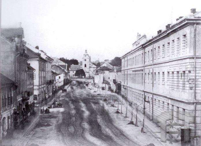 Церква Св. Анни  у Львові, ф ото 1860-1870 років