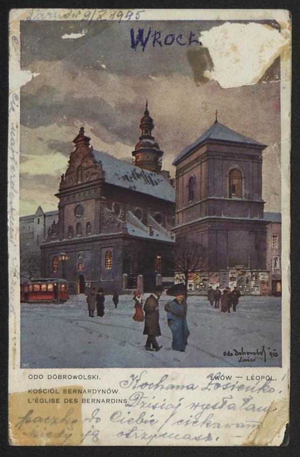 Костел бернардинів, 1910-1919