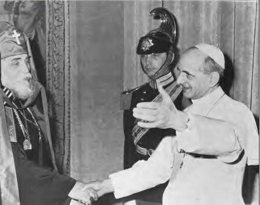 Йосип Сліпий і Папа Павло VІ, 1965 рік