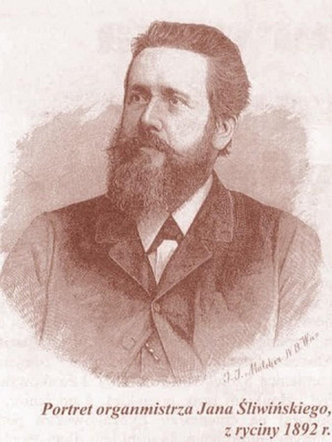 Портрет Яна Слівінського, 1892 рік