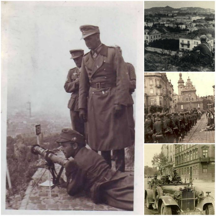 Львів 1941 року у об'єктиві німецьких солдатів з