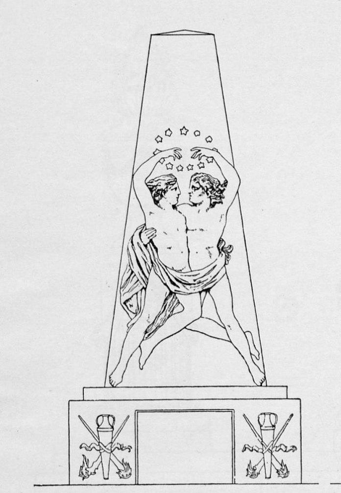 Ансамбль над родинним похованням Гофманів і Фоґелів (поле №2 на Личаківському цвинтарі)