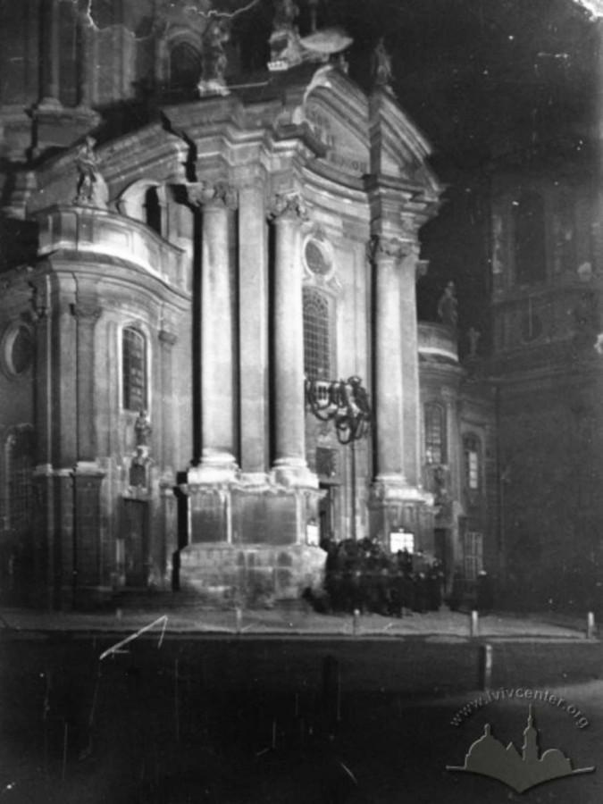Домініканський костел, поч. 1930 - х рр. Фот. Яна Отко