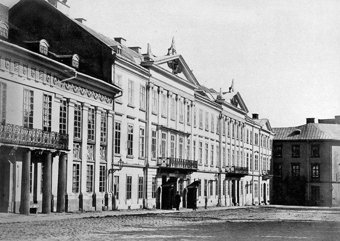 Будинок на вулиці Винниченка, 18 (колишній палац Хлонєвських), 1875 рік